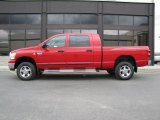 2008 Dodge Ram 3500 Flame Red