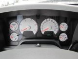 2008 Dodge Ram 3500 SLT Mega Cab 4x4 Gauges