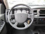 2008 Dodge Ram 3500 SLT Mega Cab 4x4 Steering Wheel