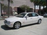 White Onyx Jaguar XJ in 2005