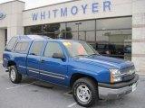 2004 Arrival Blue Metallic Chevrolet Silverado 1500 Z71 Extended Cab 4x4 #49390662