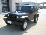 2011 Black Jeep Wrangler Sport S 4x4 #49418445