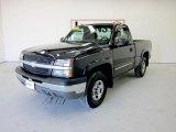 2003 Dark Gray Metallic Chevrolet Silverado 1500 Z71 Regular Cab 4x4 #49417775