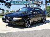 1999 Black Ford Mustang V6 Convertible #49418612