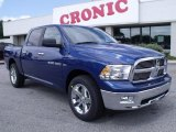 2011 Deep Water Blue Pearl Dodge Ram 1500 Big Horn Crew Cab #49418292