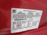 2000 Chevrolet Astro LS Passenger Van Info Tag