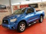 2007 Blue Streak Metallic Toyota Tundra SR5 Regular Cab #49418646