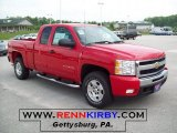 2011 Victory Red Chevrolet Silverado 1500 LT Extended Cab 4x4 #49418485