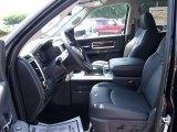 2010 Dodge Ram 3500 Laramie Crew Cab Dually Dark Slate Interior