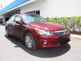 2011 Basque Red Pearl Honda Accord EX-L V6 Sedan #49418065