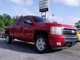 2008 Victory Red Chevrolet Silverado 1500 LT Extended Cab #49418374