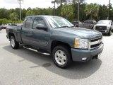 2008 Blue Granite Metallic Chevrolet Silverado 1500 LTZ Extended Cab 4x4 #49418382