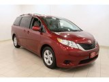 2011 Salsa Red Pearl Toyota Sienna LE #49418570