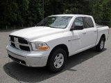 2011 Bright White Dodge Ram 1500 SLT Crew Cab #49418579