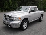 2011 Bright Silver Metallic Dodge Ram 1500 Big Horn Quad Cab 4x4 #49418580