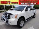 2007 White Nissan Titan LE Crew Cab 4x4 #49418590