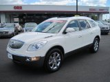 2008 White Diamond Tri Coat Buick Enclave CXL #49418424
