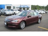 2011 Basque Red Pearl Honda Accord EX Sedan #49418428
