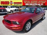 2006 Redfire Metallic Ford Mustang V6 Premium Coupe #49418600