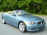 2008 Atlantic Blue Metallic BMW 3 Series 335i Convertible #49469208