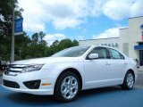 2011 White Platinum Tri-Coat Ford Fusion SE #49469211
