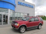 2003 Redfire Metallic Ford Explorer XLT 4x4 #49469223