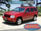 2006 Inferno Red Crystal Pearl Jeep Grand Cherokee Laredo #49469616