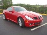 2008 Mercedes-Benz SLK Mars Red