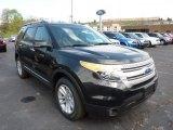 2011 Tuxedo Black Metallic Ford Explorer XLT 4WD #49469251