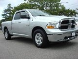 2009 Bright Silver Metallic Dodge Ram 1500 SLT Quad Cab #49469107
