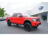 2011 Race Red Ford F150 FX4 SuperCrew 4x4 #49469277