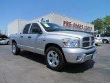 2008 Bright Silver Metallic Dodge Ram 1500 Sport Quad Cab #49469522