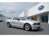 2007 Satin Silver Metallic Ford Mustang GT Premium Coupe #49469280