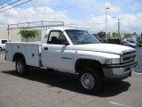 2001 Bright White Dodge Ram 2500 ST Regular Cab 4x4 #49469130