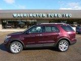 2011 Bordeaux Reserve Red Metallic Ford Explorer XLT 4WD #49469394