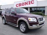 2006 Dark Cherry Metallic Ford Explorer Eddie Bauer #49469304