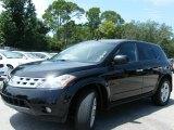 2005 Super Black Nissan Murano SL #442874