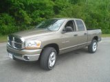 2006 Light Khaki Metallic Dodge Ram 1500 SLT Quad Cab 4x4 #49469549