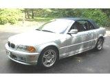 2001 Titanium Silver Metallic BMW 3 Series 330i Convertible #49469561