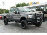 2004 Dark Shadow Grey Metallic Ford F250 Super Duty XLT Crew Cab 4x4 #49514908