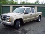2006 Sandstone Metallic Chevrolet Silverado 1500 Z71 Extended Cab 4x4 #49514559
