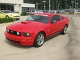 2006 Torch Red Ford Mustang V6 Deluxe Coupe #49514923