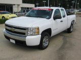 2008 Summit White Chevrolet Silverado 1500 LS Extended Cab #49514926