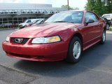 2000 Performance Red Ford Mustang V6 Coupe #49514580