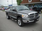 2008 Mineral Gray Metallic Dodge Ram 1500 Big Horn Edition Quad Cab 4x4 #49514753