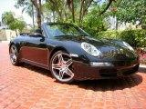 2008 Basalt Black Metallic Porsche 911 Carrera S Cabriolet #49514942