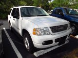2004 Oxford White Ford Explorer XLT 4x4 #49514452