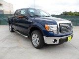 2011 Dark Blue Pearl Metallic Ford F150 Texas Edition SuperCrew #49514785