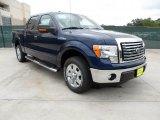 2011 Dark Blue Pearl Metallic Ford F150 Texas Edition SuperCrew #49514786