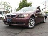 2007 Barrique Red Metallic BMW 3 Series 328i Sedan #49514490